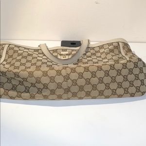 Gucci Bags - Authentic Gucci GG Monogram Brown Beige Tote